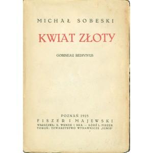 SOBESKI Michał, Kwiat złoty.