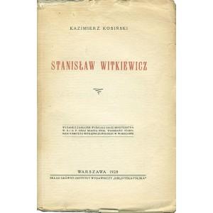 KOSIŃSKI Kazimierz, Stanisław Witkiewicz