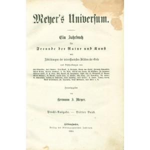 MEYER'S UNIVERSUM. T.3 (z 3)