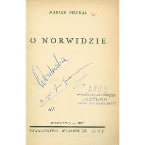 PIECHAL Marjan, O Norwidzie.