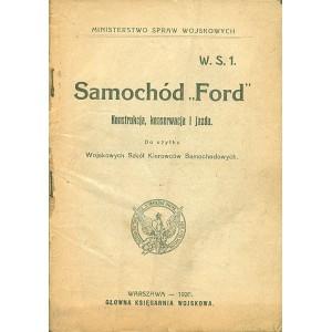 """SAMOCHÓD """"ford'"""