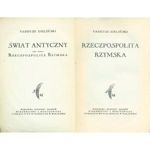 ZIELIŃSKI Tadeusz, Rzeczpospolita Rzymska.