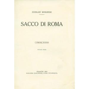 MORAWSKI Zdzisław, Sacco di Roma.