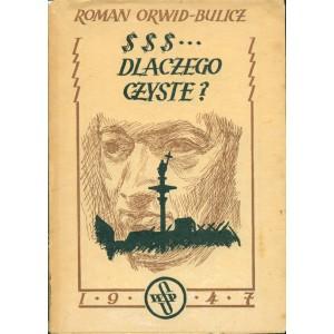 ORWID-BULICZ Roman, Dolary ... Dlaczego czyste?