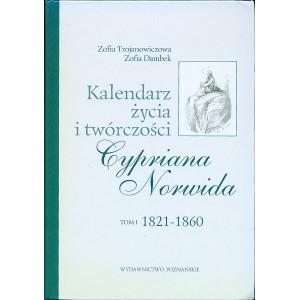 KALENDARZ życia i twórczości Cypriana Norwida. T. I/III.