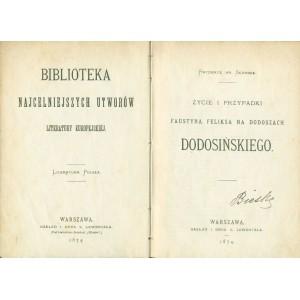 SKARBEK F. Życie i przypadki Faustyna Feliksa na Dodoszach Dodosińskiego.