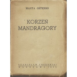 OSTENSO Marta: Korzeń mandragory.