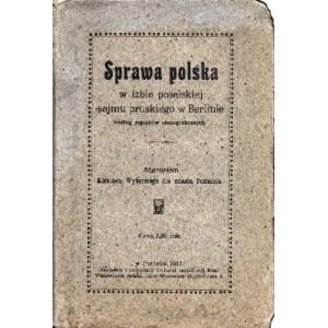 Sprawa polska w izbie poselskiej sejmu pruskiego w Berlinie