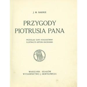 BARRIE J. M., Przygody Piotrusia Pana.